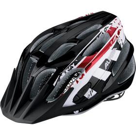 Alpina FB Jr. 2.0 Helmet black-white-red
